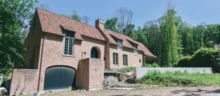 Prachtige casco (winddicht) villa op unieke ligging te Bellegem
