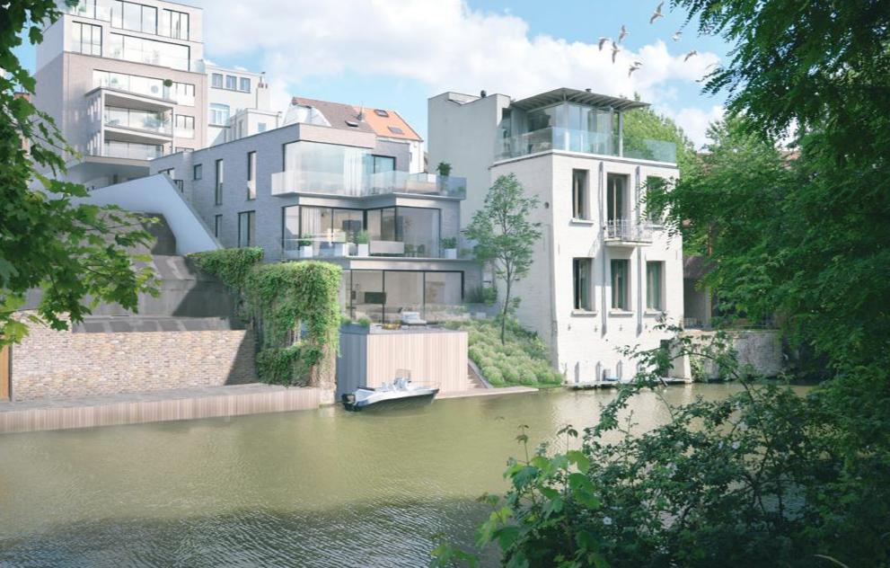 Exclusieve vastgoedproject op een toplocatie in het centrum van Gent