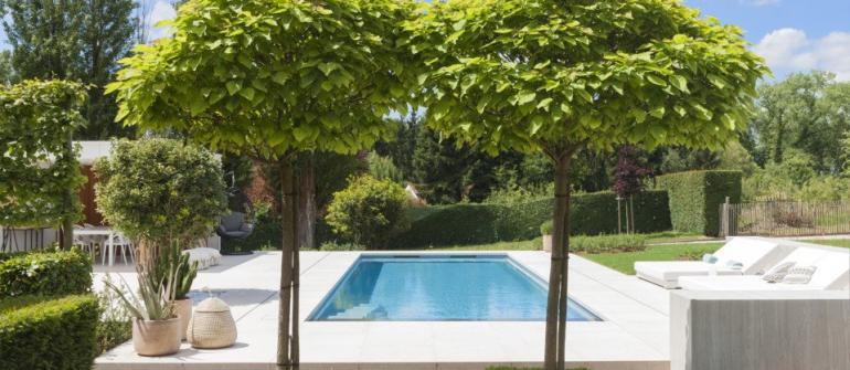 De mooiste zwembaden stelt een realisatie van DcPools voor..