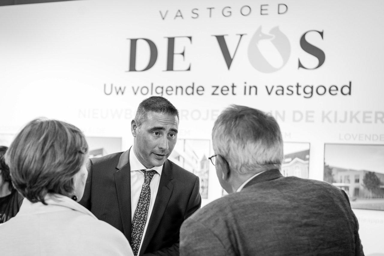 Bert De Vos en zijn team herleven nu bezichtigingen weer mogen