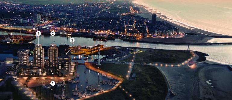 OOSTEROEVER OOSTENDE de nieuwe  stad aan zee