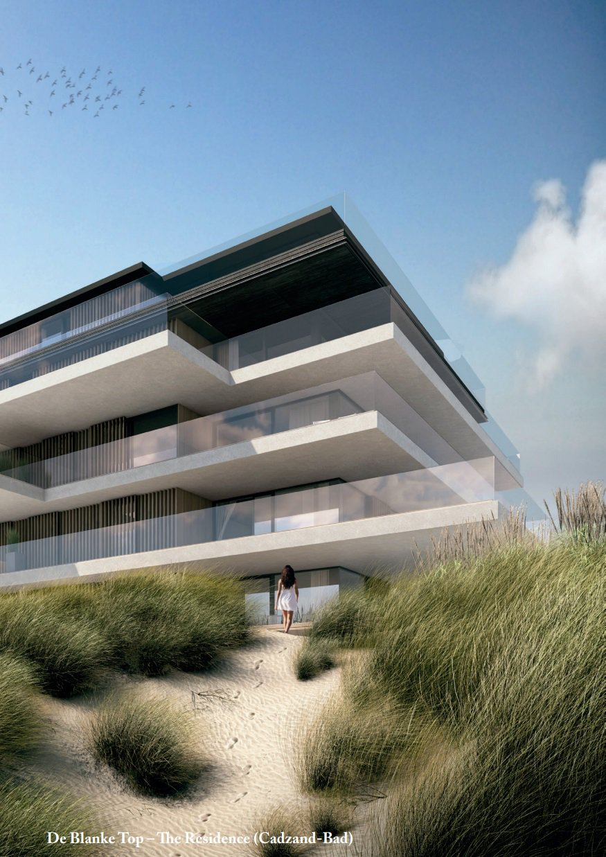 A five star lifestyle, De Blanke Top, The Residence Cadzand-Bad