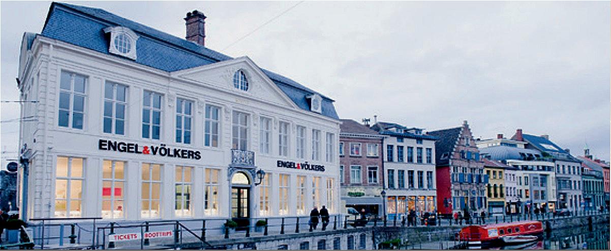 Engel & Völkers is sinds vele jaren aanwezig in Gent