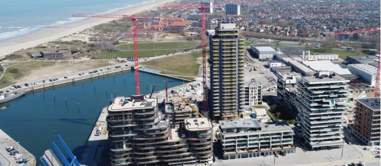 Wonen in een nieuwe stadswijk aan zee, terwijl u geniet van adembenemende uitzichten