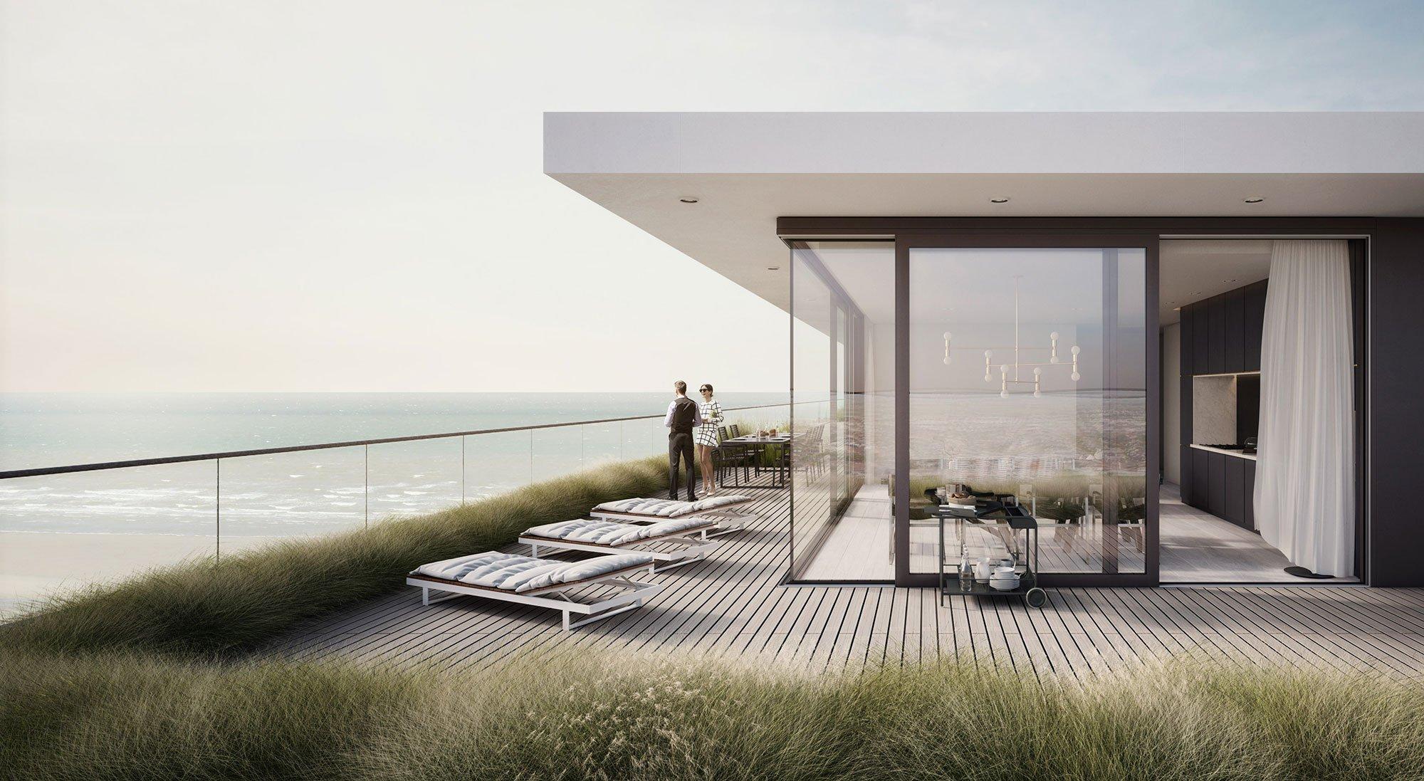 Wonen aan de Belgische Kust, de rush op vastgoed neemt nog toe