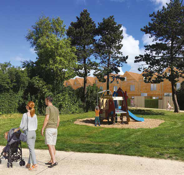 Prachtige Oostendse nieuwbouwhuizen voor minder dan 300.000 euro