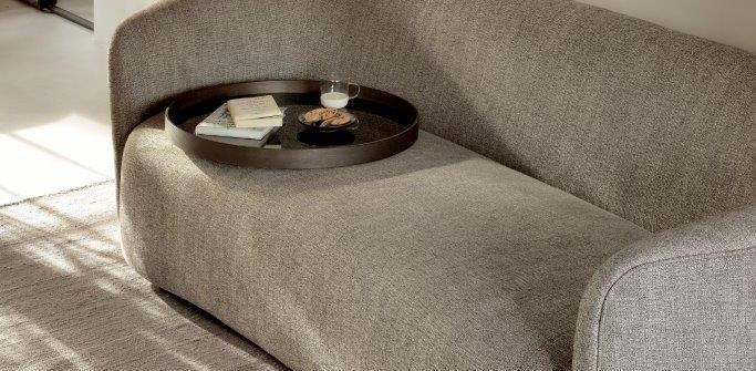 Ethnicraft Ellipse sofa 3seater ash Grey Noma