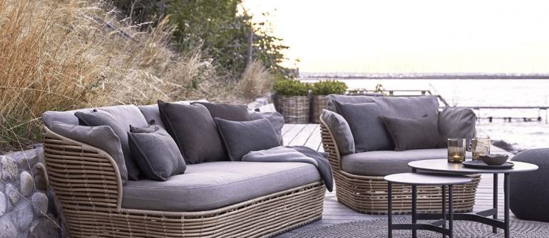 Cane-Line Basket lounge chair