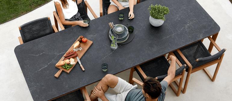 CaneLine – Aspect table – Royal chair